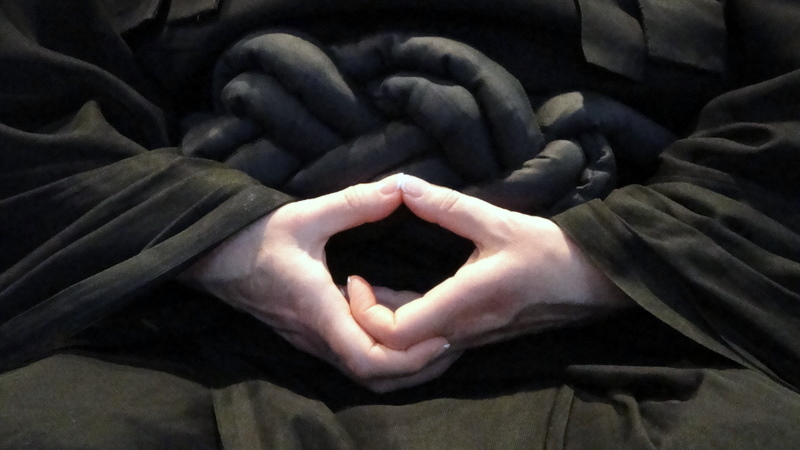 Dhyana Mudra during Zazen